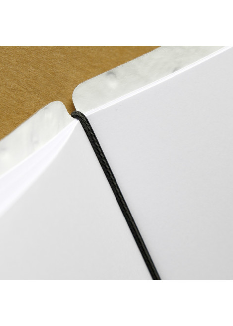 accessories Spare part elastics black 34 cm for menu A4 in bonded leather and cork 10 pcs pack