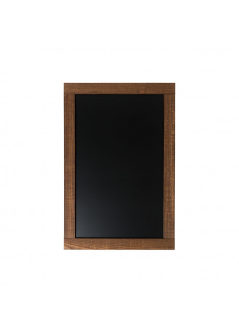 Blackboard D4 STYLE BOTERO 60X90 cm for the wall with frame color DARK BROWN
