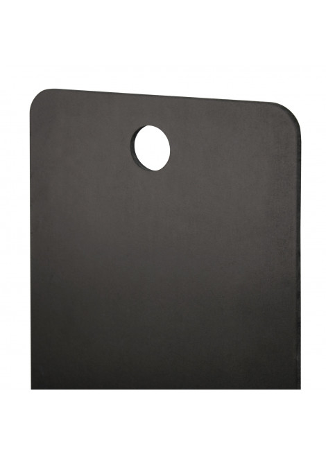 boards SHAPE 40 x 150 cm for the wall BLACK