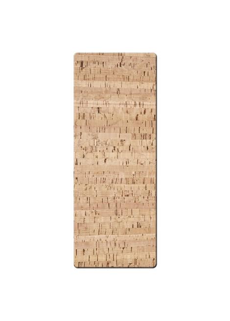 CUTLERY REST 10x26 cm single piece CORK NATURAL th. 1.4