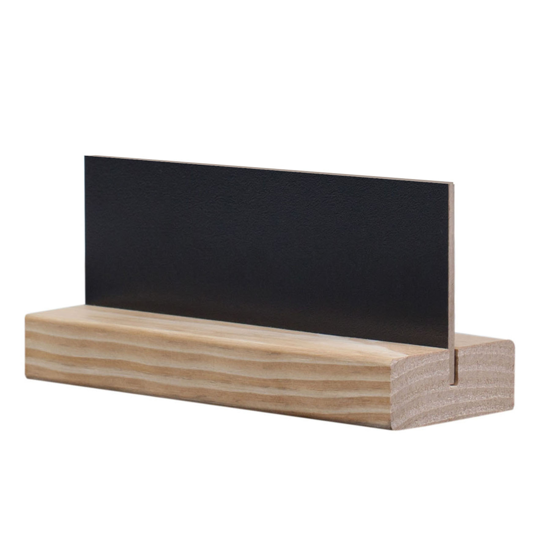 Wandplank 15 Cm.Blackboard D4 Style Modigliani 8 X 15 Cm For The Table With Basis Colo