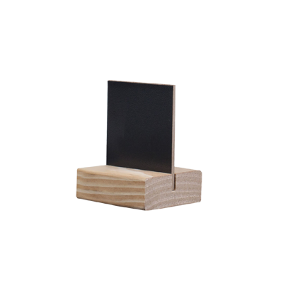 Blackboard D4 STYLE MODIGLIANI 5,5x6,5 cm for the table with basis color PINE
