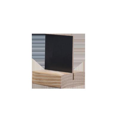 lavagna D4 STYLE MODIGLIANI 5,5 x 6,5 cm da tavolo base colore PINO