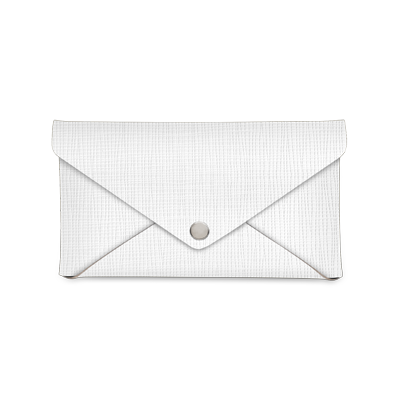 bill holder CLUTCH CHEF WHITE