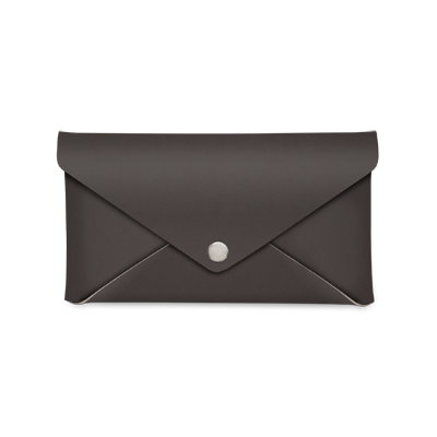bill holder CLUTCH FASHION SMOOTH BROWN