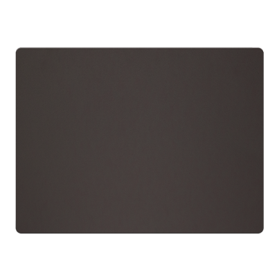 PLACEMATS 30 x 40 cm single piece FASHION SMOOTH BROWN