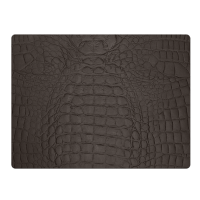 PLACEMATS 30 x 40 cm single piece FASHION BROWN COCCO