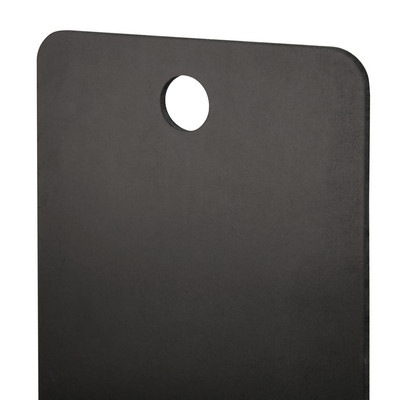 boards SHAPE 20 x 50 cm for the wall BLACK