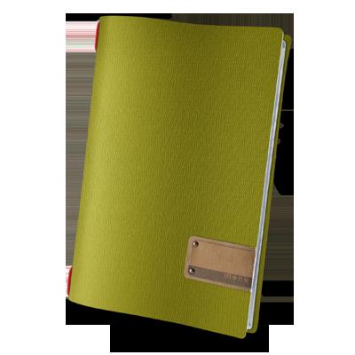 "menu holder A4 PATCH label ""menu"" 4 envelopes elastic cord JUTE GREEN"