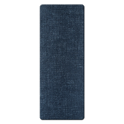 CUTLERY REST 10x26 cm single piece JUTE JEANS
