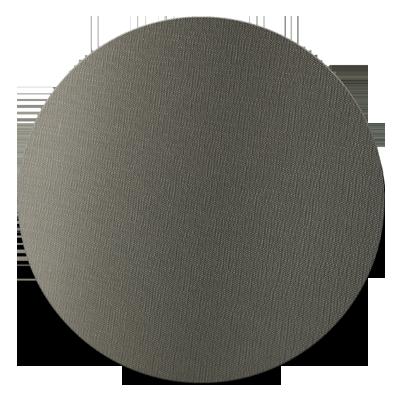 ROUND PLACEMATS 34 cm single piece JUTE GREY
