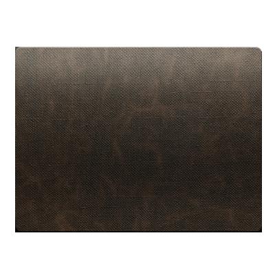 PLACEMATS 30 x 40 cm single piece JUTE BROWN