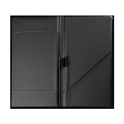 table accessories TOSCANAbill HOLDER 2 pockets BLACK TEX